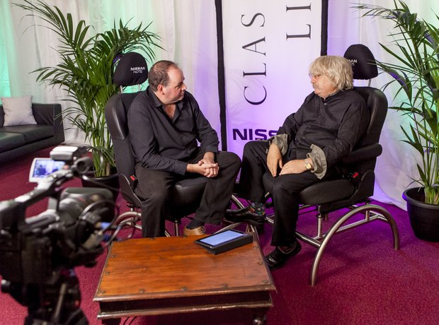 Karl Jenkins and Tim Lihoreau at the Classic FM Li