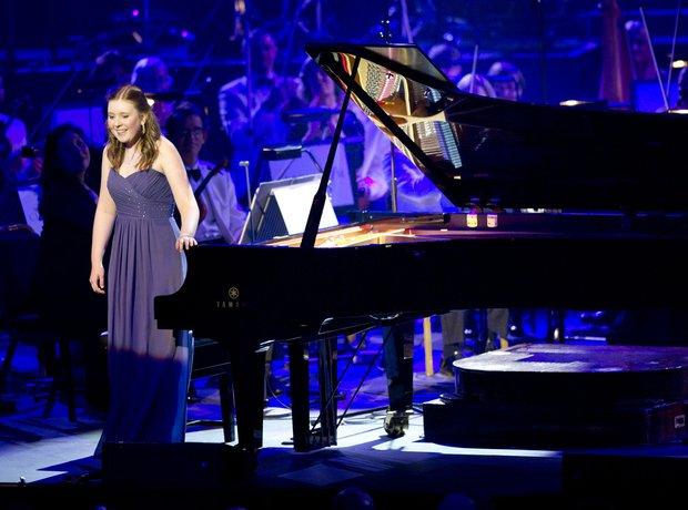 Sarah Gardner  at Classic FM Live 2012
