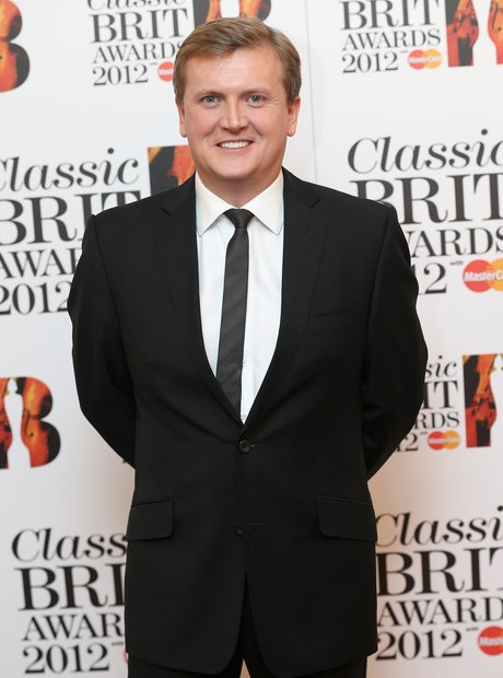 Aled Jones arrives at the Classic BRIT Awards 2012