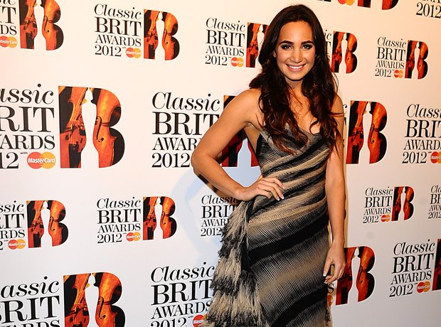 Laura Wright at the Classic BRIT Awards 2012