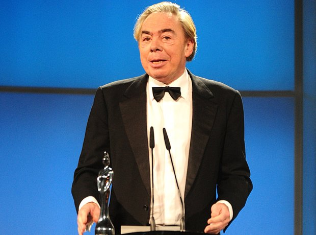 Lord Andrew Lloyd Webber  at the Classic BRIT Awar