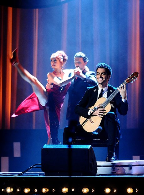 Milos Karadaglic live at the Classic BRIT Awards 2