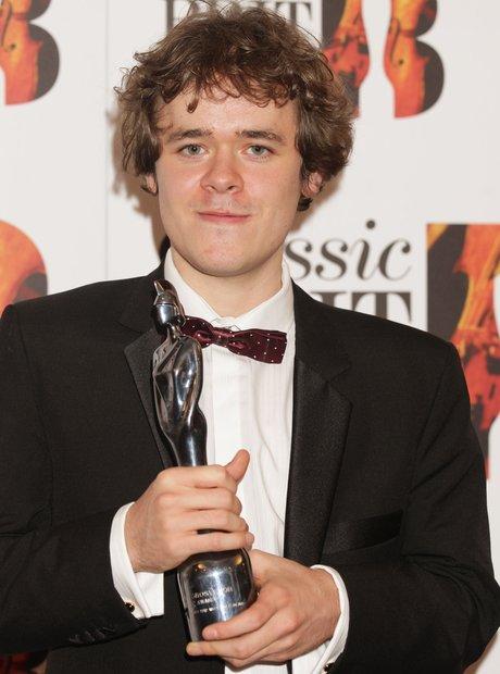 Benjamin Grosvenor at Classic BRIT Awards 2012