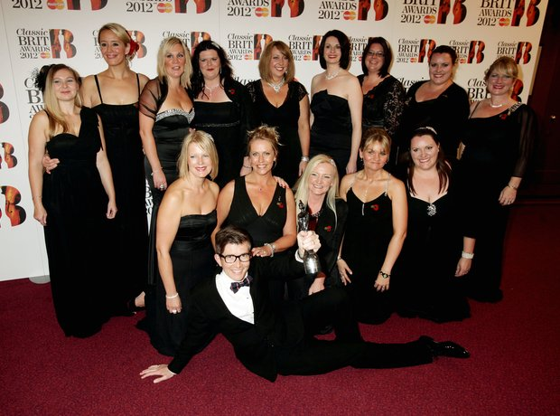 Gareth Malone and the Military Wives at the Classi