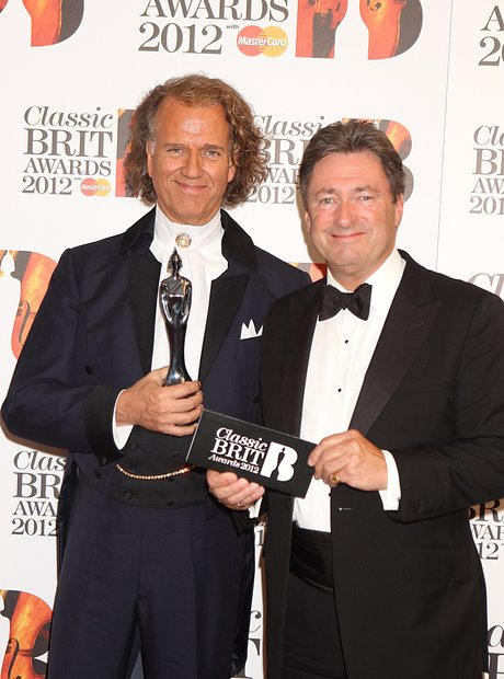 Andre Rieu and Alan Titchmarsh at the Classic BRIT