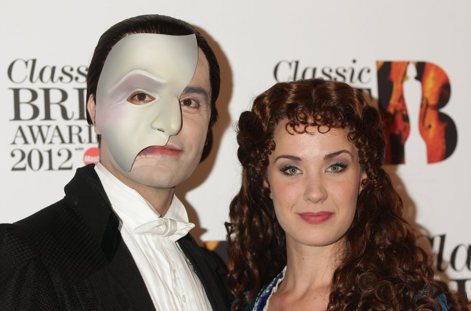 Ramin Karimloo and Sierra Boggess at the Classic B