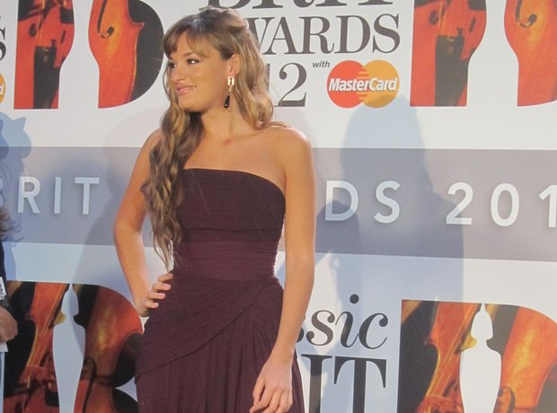 Classic BRIT Awards Red Carpet arrivals nicola benedetti