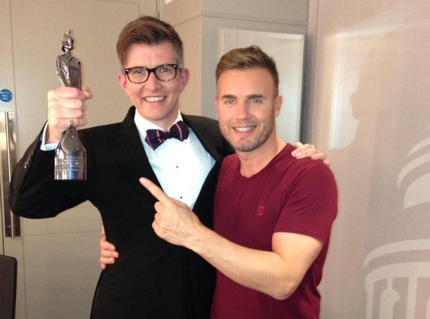 Gary Barlow and Gareth Malone Classic BRIT Award