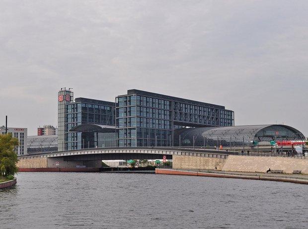 Berlin Station hauptbahnhof