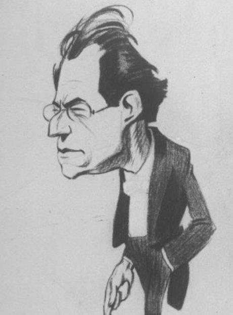 mahler caricature