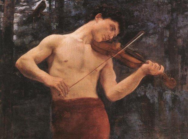 orpheus painting