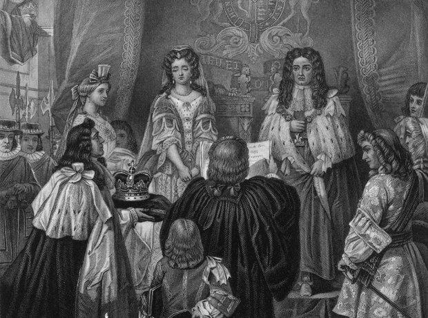 william and mary coronation