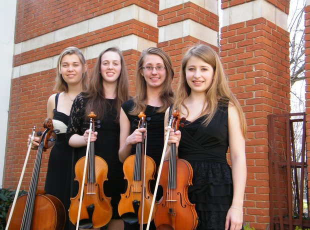 Hampshire String Quartet at NAtional Festival Birm