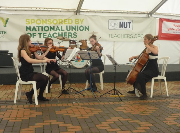 Hampshire String Quartet performance