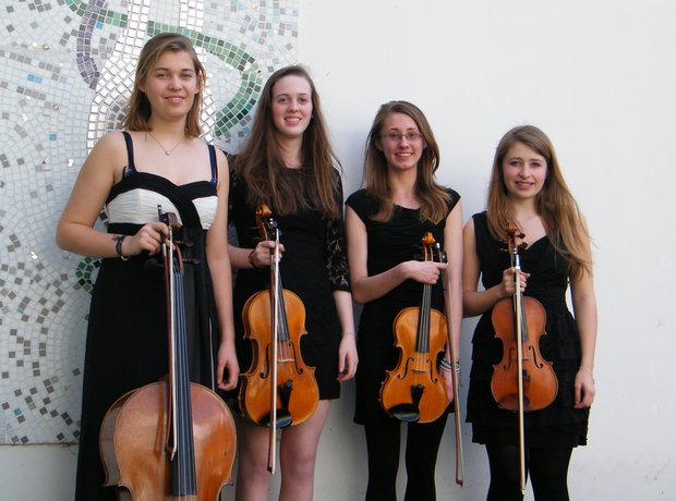 Hampshire String Quartet group shot