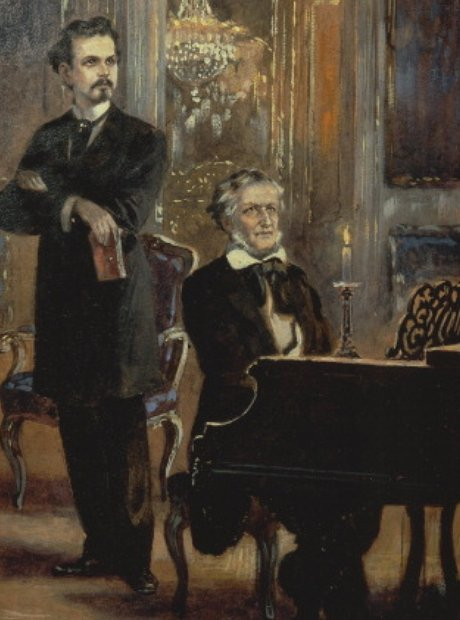 ludwig II with wagner