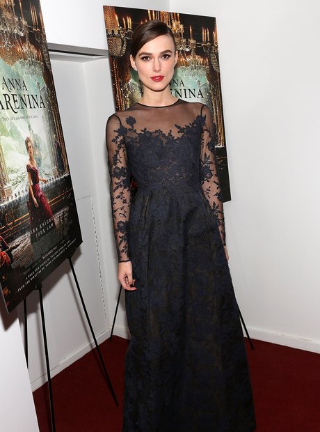 Keira Knightley attends 'Anna Karenina' screening