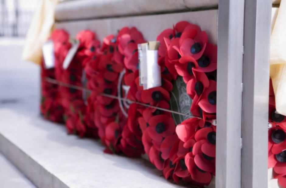 poppy remembrance sunday