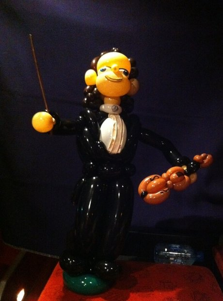 André Rieu balloon model
