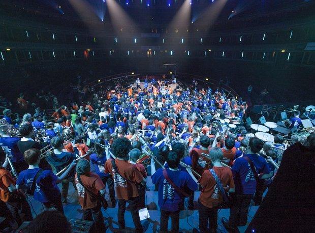 Bradford Massed Ensemble schools prom rehearsal 10