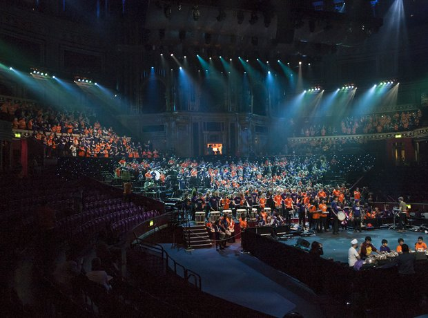 Bradford Massed Ensemble schools prom rehearsal 2