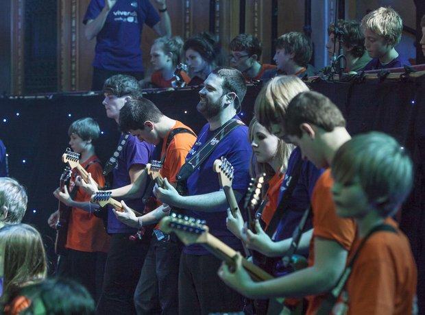 Bradford Massed Ensemble schools prom rehearsal 9