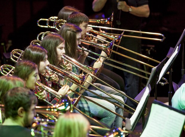 carnoustie brass band rehearsal 5