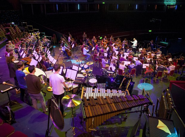 City of Belfast Youth Orchestra get ready for thei