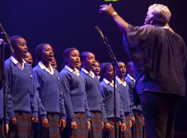 Maria Fidelis Convent School Gospel Choir