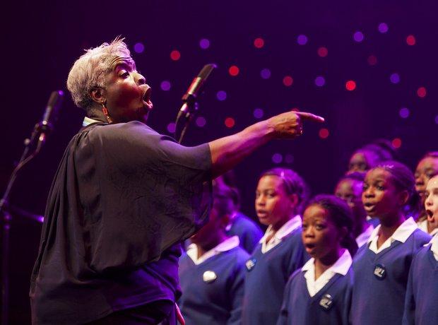 Maria Fidelis Convent School Gospel Choir