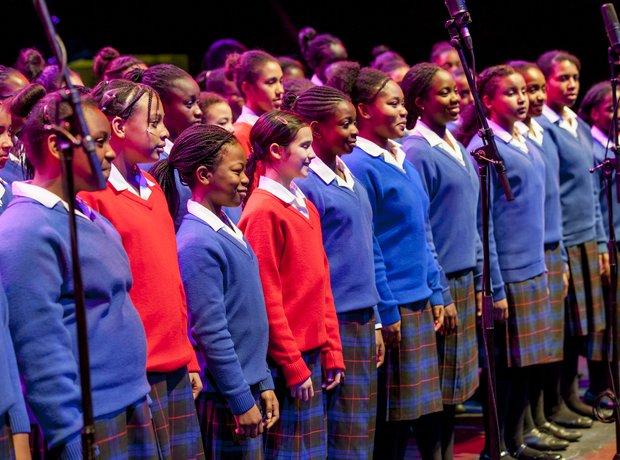 maria fidelis gospel choir schools prom rehearsal
