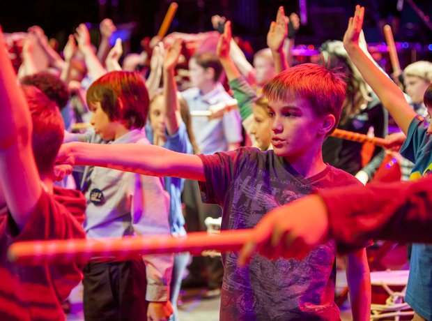 Marshfield Taiko schools prom rehearsal 4