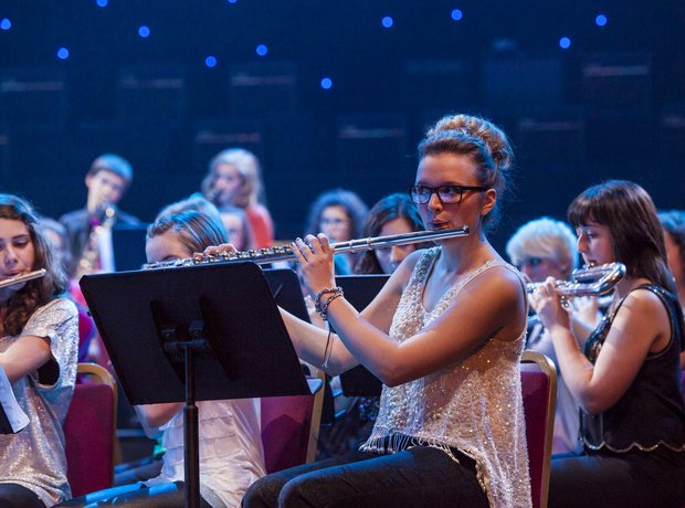 The Dream Orchestra perform at the Schools Prom