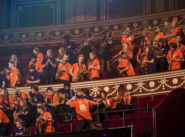 Vivendi Sounds Bradford Massed Ensemble