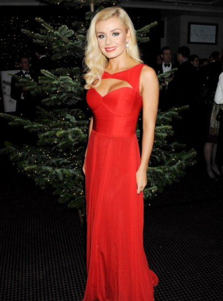 Katherine Jenkins turns on the St James Christmas