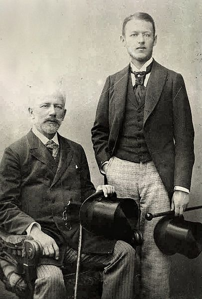 Tchaikovsky and lover