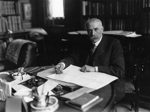 Edward Elgar composer 80 anniversary 1934