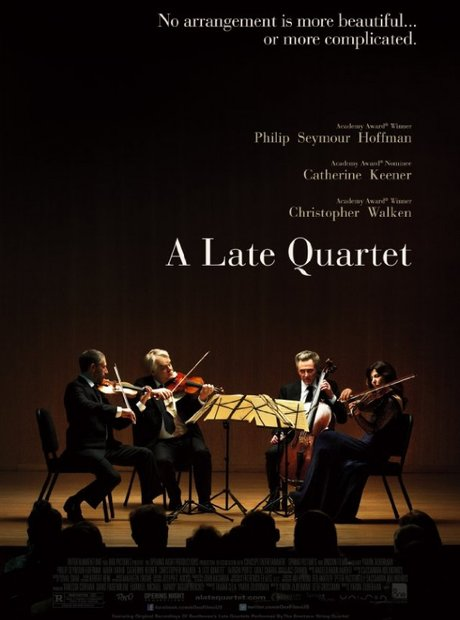 a late quartet film poster