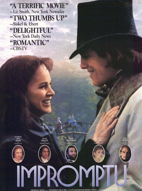 Impromptu film poster