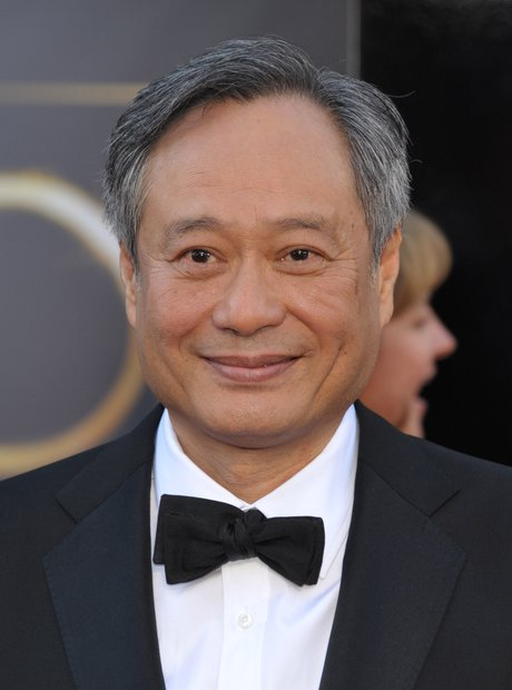 Ang Lee at the Oscars 2013 red carpet