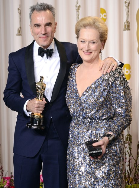 Daniel Day-Lewis and Meryl Streep at the Oscars 20