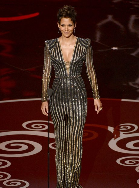Halle Berry at the Oscars 2013 Awards Show