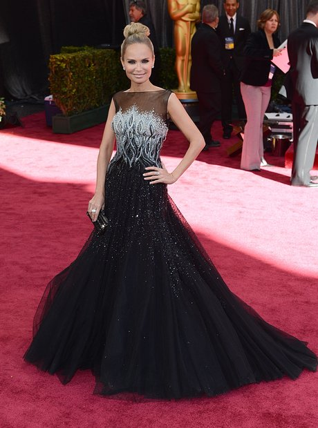 Kristin Chenoweth attends the Oscars 2013