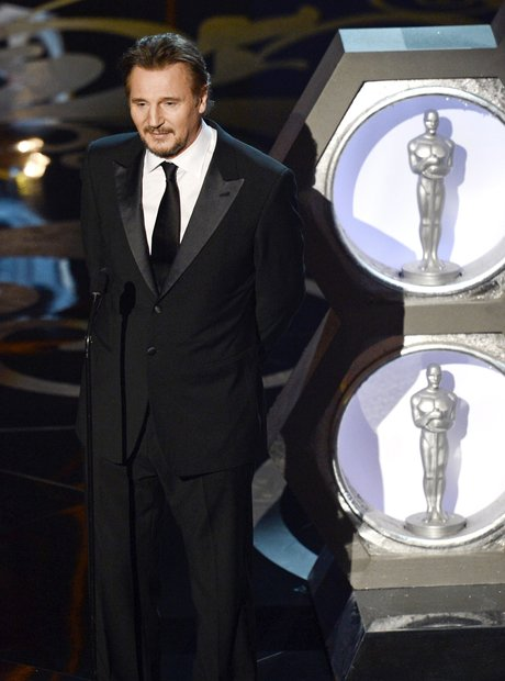 Liam Neeson at the Oscars 2013 Awards Show