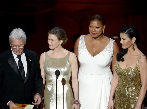 Richard Gere, Renee Zellweger, Queen Latifah and C