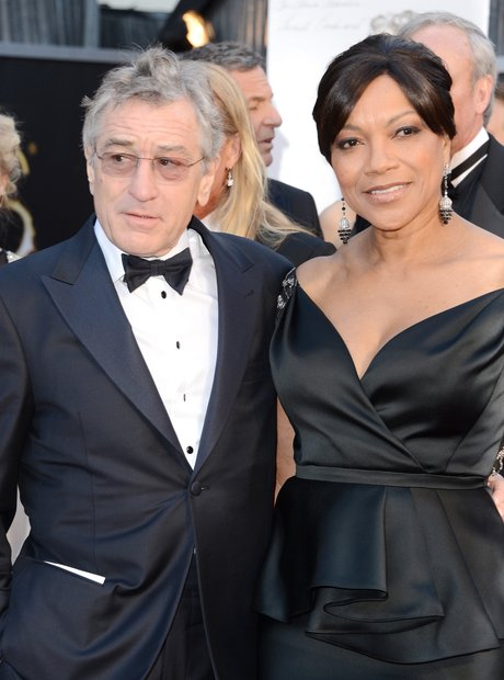 Robert De Niro and Grace Hightower at the Oscars 2