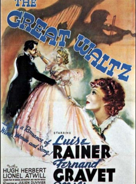 the great waltz movie poster