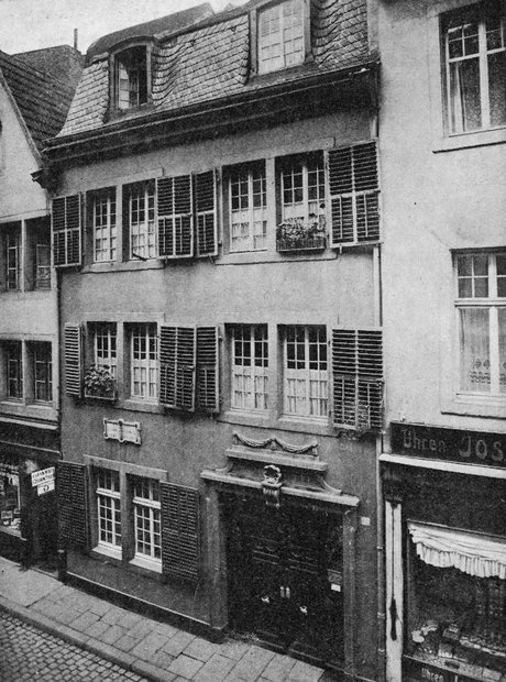 Beethoven's birthplace, Bonn