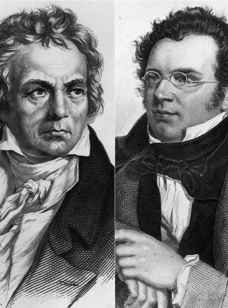Beethoven and Schubert