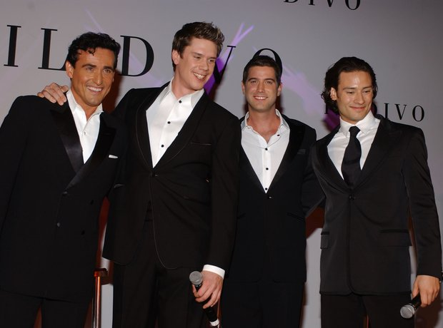 Il divo 20 facts you never knew classic fm - Toop toop il divo ...